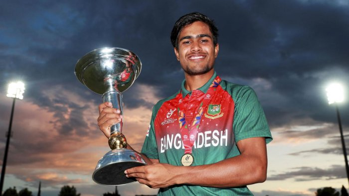 Bangladesh U19 cricket team captain Mohammad Akbar Ali. (PTI Photo)