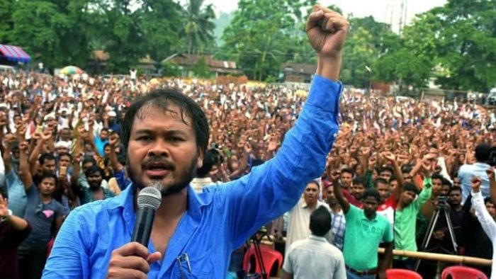 Gogoi, also an RTI activist, has been in judicial custody since December 26. He had mobilised public protests against the CAA across several districts in Upper Assam before his arrest on December 12. Credit: Facebook (akhil.gogoi)