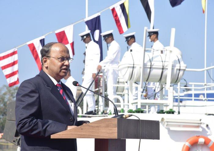 Chief Secretary TMVijay Bhaskar. (DH Photo)