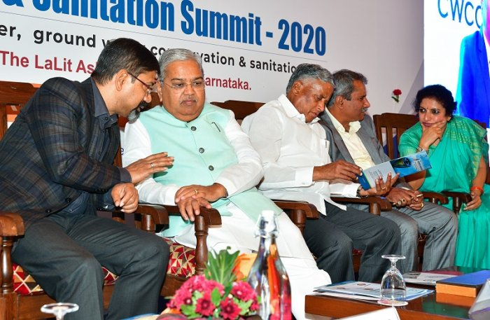 National Sustainable Water and Sanitation Summit, organised by the Confederation of Women's Chamber of Commerce and Industry. (DH Photo)