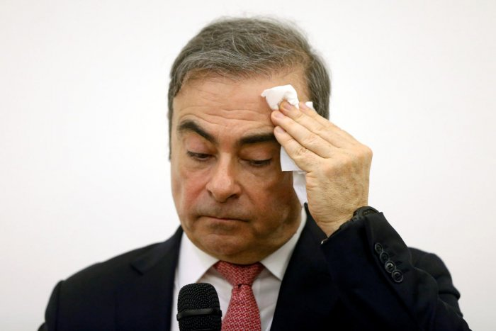 Former Nissan chairman Carlos Ghosn. (Reuters photo)