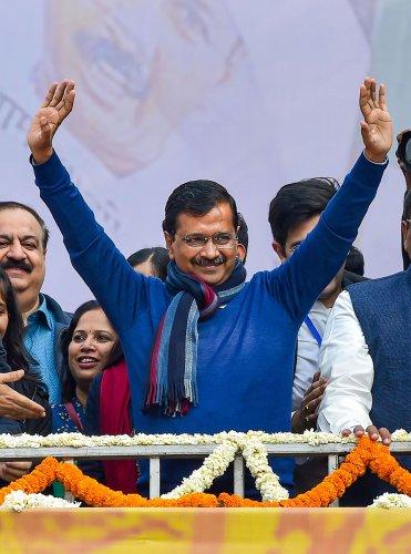 Chief Minister of Delhi Arvind Kejriwal (Credit: PTI Photo)