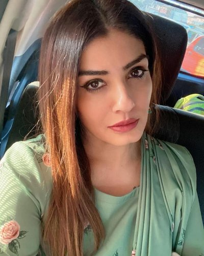 Raveena Tandon will soon be seen in KGF Chapter 2. (Credit:Facebook)