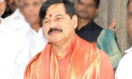 BJP MLA of Krishnaraja constituency S A Ramdas. Credit: DH File Photo