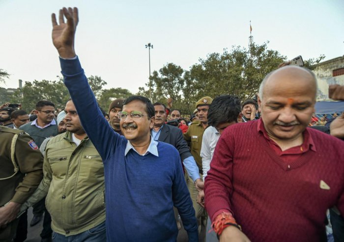 With Kejriwal set to become the chief minister of Delhi for the third straight term, leaders of non-BJP parties cutting across party lines said the poll outcome showed that elections can be fought and won on the development plank.