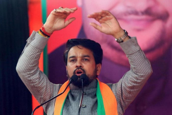 Minister of State for Finance Anurag Singh Thakur. (Credit: PTI photo)