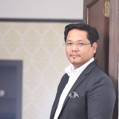Conrad K Sangma. (DH Photo)