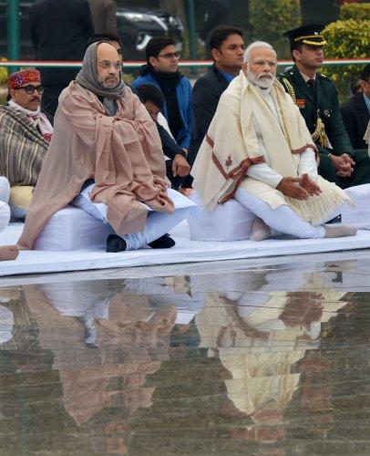 Prime Minister Narendra Modi and Home Minister Amit Shah. (PTI Photo)