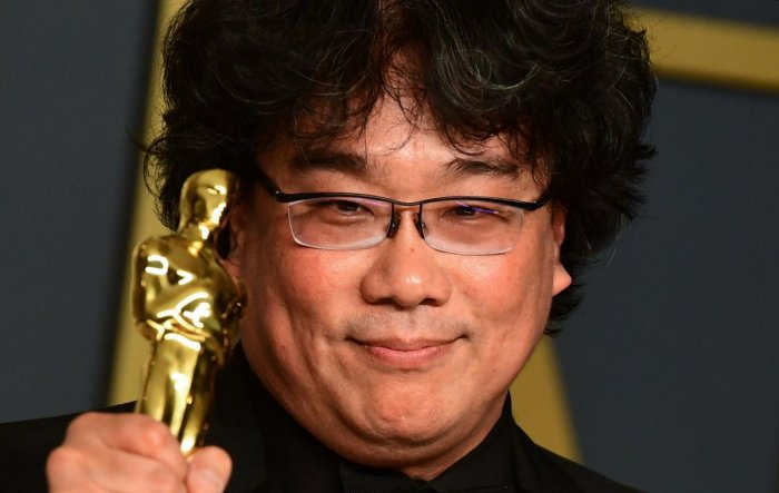 Bong Joon-ho is the director of the global sensation called Parasite. (Credit: AFP photo/Frederic J Brown)
