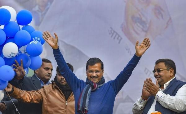 AAP chief Arvind Kejriwal. (PTI Photo)