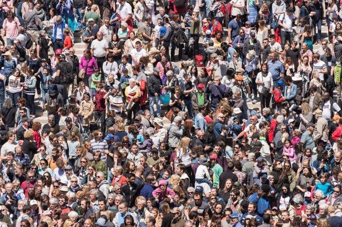 Population explosion. (iStock image)