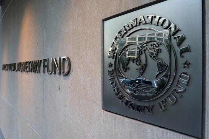 International Monetary Fund (IMF) logo. (Reuters Photo)