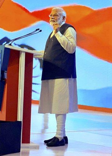 In reality, Kashmiri identity is closely linked with harmony, Modi had said in the Lok Sabha. (Credit: PTI Photo)