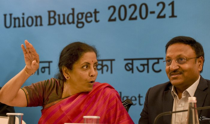 Union Minister for Finance and Corporate Affairs Nirmala Sitharaman. (PTI Photo)