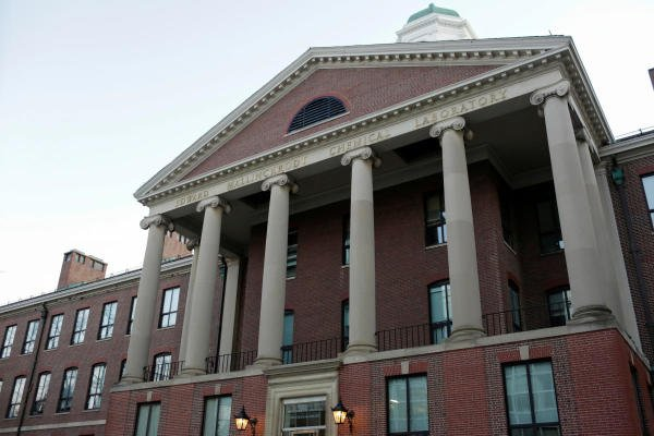 The exterior of The Department of Chemistry and Chemical Biology at Harvard University. (Reuters Photo)