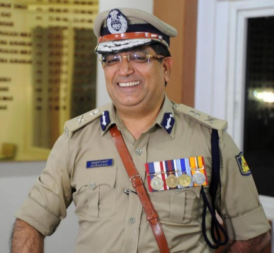 City police commissioner Bhaskar Rao. (DH Photo)