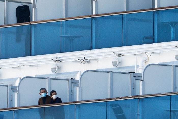 Cruise ship Diamond Princess arrives at Daikoku Pier Cruise Terminal in Yokohama. Credit: Reuters Photo