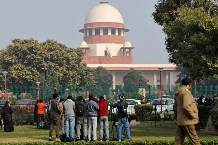 Supreme Court of India. (Credit: Reuters Photo)