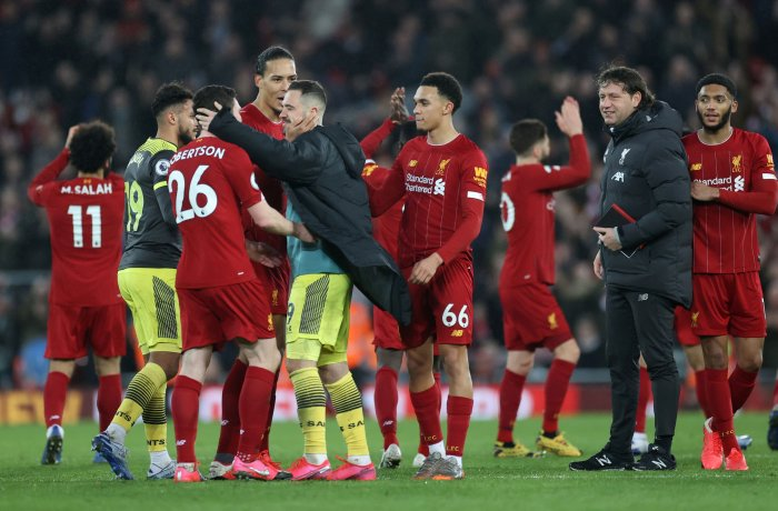 An injury to Alisson Becker was the one big concern of that victory for Klopp as the Brazilian was sidelined for two months. (Credit: Reuters Photo)
