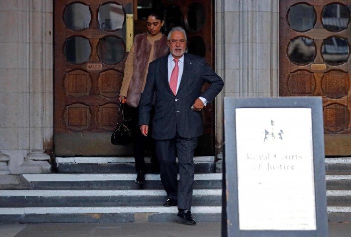 Indian tycoon Vijay Mallya. (AFP Photo)