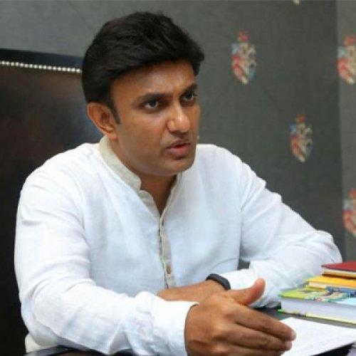 State Medical Education minister Dr K Sudhakar. (DH File Photo)