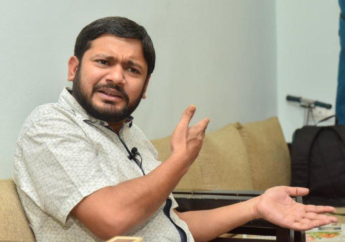 Kanhaiya Kumar. (DH Photo)