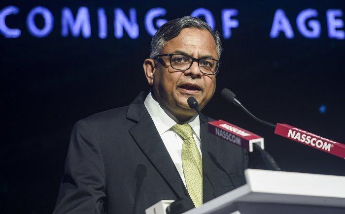 Tata Sons chairman N Chandrasekaran. (Credit: PTI Photo)