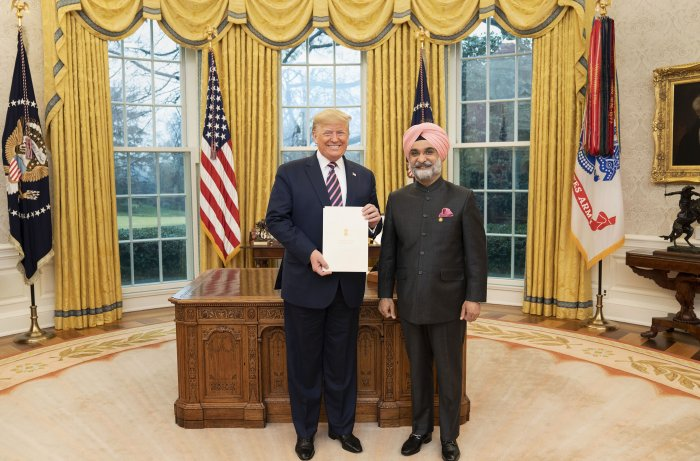 Many of the US-India milestones achieved in recent years are due in no small part because of Biswal's efforts, Wells said. (Credit: PTI Photo)