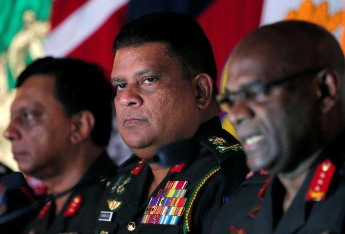 Shavendra Silva. Reuters file photo