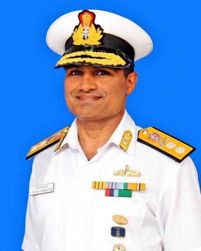 Rear Admiral Krishna Swaminathan. (DH Photo)