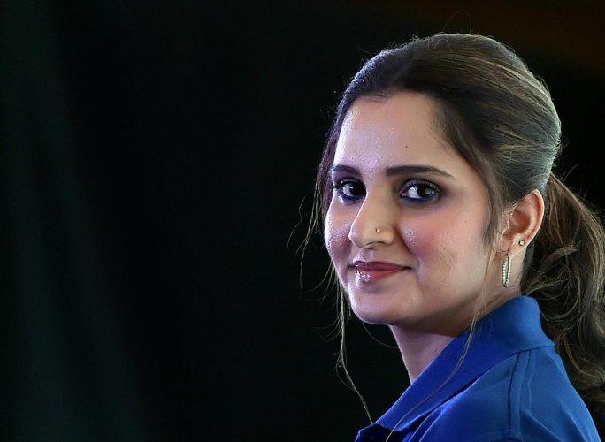 Indian tennis ace Sania Mirza (PTI Photo)