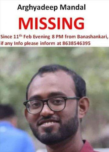 Arghyadeep Mandal, student of KIMS, Bengaluru.(DH Photo)