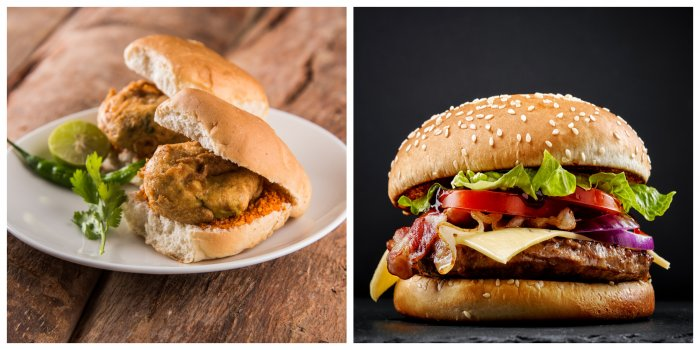 World's top chefs a Mumbai Vada Pav among some of the world's best burgers. (Credit: iStockPhoto)