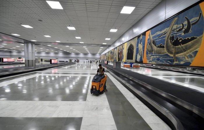 Indira Gandhi International Airport. (PTI Photo)