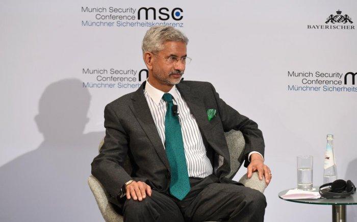 Minister of External Affairs Subrahmanyam Jaishankar. (AFP Photo)