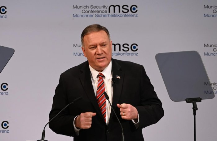 US Secretary of State Mike Pompeo. (AFP Photo)