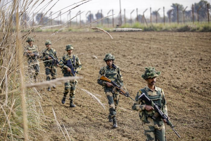 """The """"indiscriminate and unprovoked firing"""" caused serious injuries to a 13-year-old girl in Fatehpur village, it said. (Credit: PTI Photo)"""