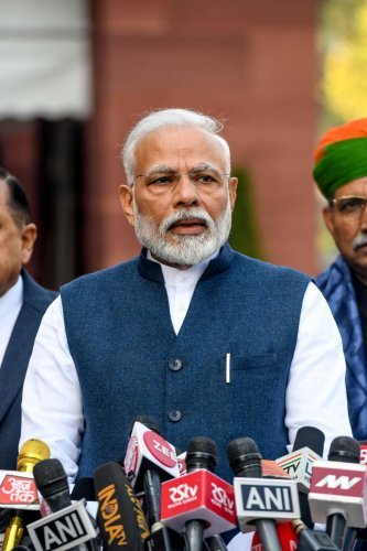 The prime minister also suggested measures to enhance collaboration in research and development projects among Indians working in different parts of the world.