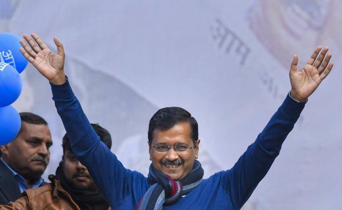 Delhi CM and AAP convenor Arvind Kejriwal. (PTI file photo)