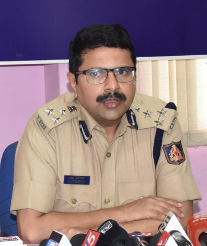 Hubballi-Dharwad Police Commissioner R Dileep. (DH Photo)