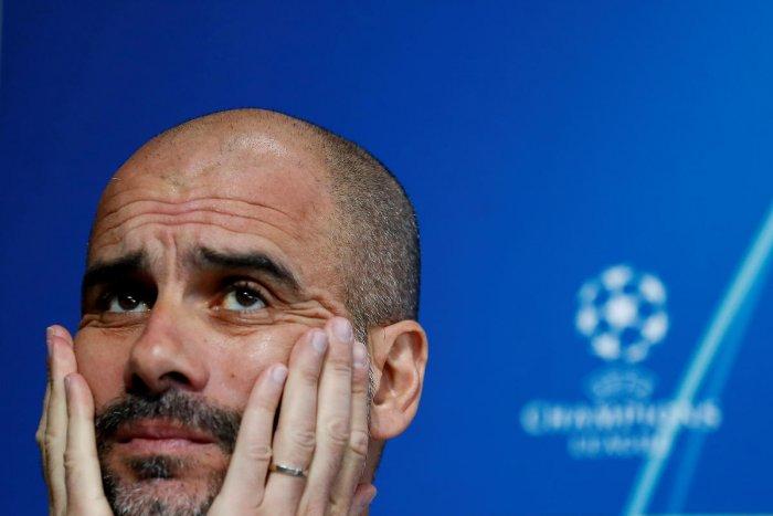 Pep Guardiola. (Reuters photo)