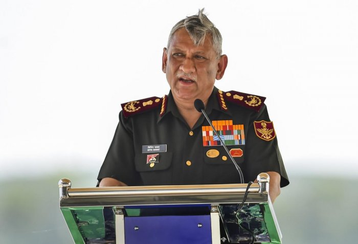 Chief of Defence Staff General Bipin Rawat. (PTI Photo)