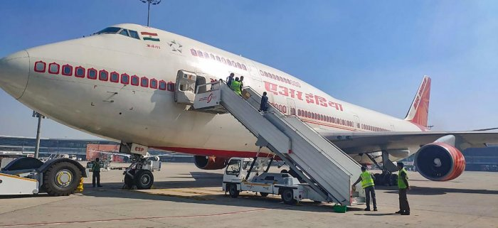 The Government earlier airlifted 645 Indian and seven Maldivian citizens from Hubei province of China as a B-747 aircraft of Air India made two sorties between Wuhan and New Delhi on January 31 and February 1 last. PTI file photo