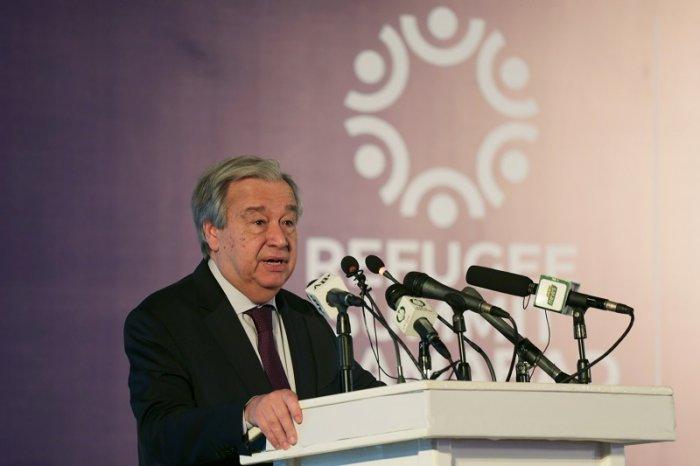 United Nations Secretary-General Antonio Guterres. (Reuters Photo)