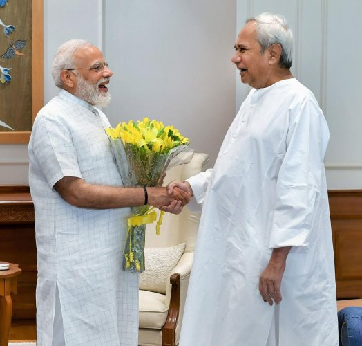 Narendra Modi and Naveen Patnaik (PTI File Photo)