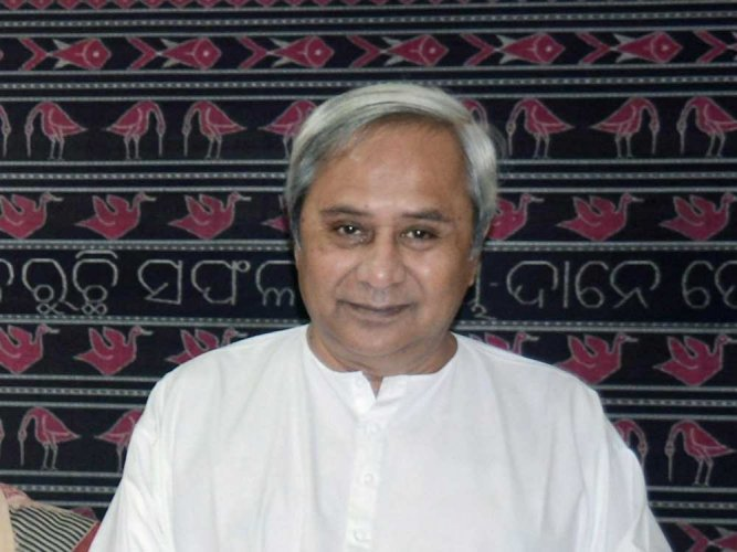 Chief Minister Naveen Patnaik. PTI file photo