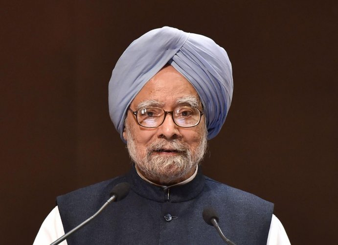 The BJP on Thursday tweeted a video from a Rajya Sabha session dating back to 2003 where Singh can be heard making an earnest plea for a lenient Citizenship Act.Photo/PTI