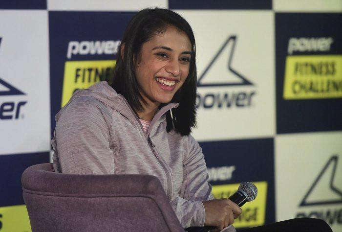 Indian women cricketer Smriti Mandhana. (PTI Photo)