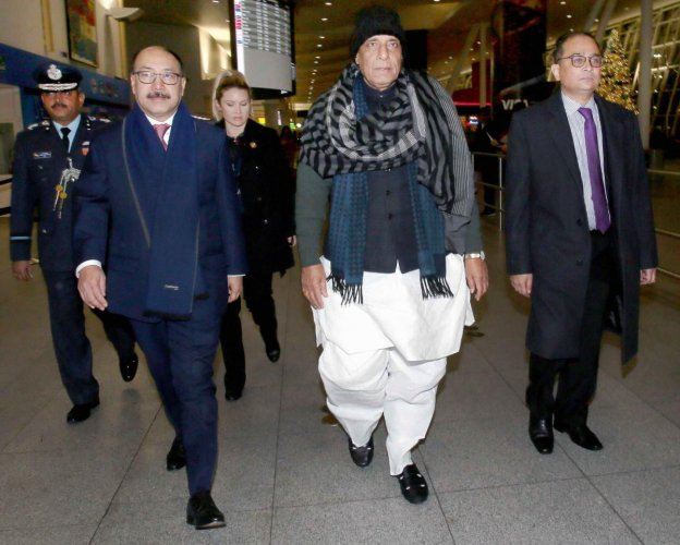 Singh, arrived in the US on Monday for the 2019 US-India 2+2 Ministerial Dialogue in Washington on December 18. PTI