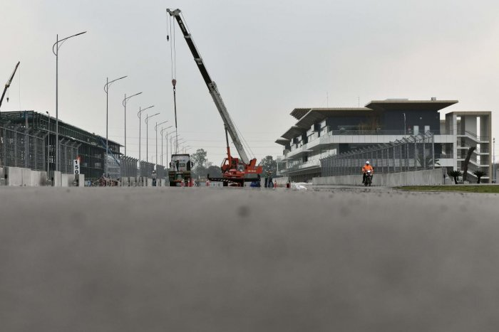Vietnam Grand Prix track.(AFP file photo)
